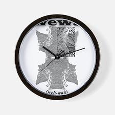 WEWA (wehwah) Wall Clock
