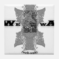 WEWA (wehwah) Tile Coaster