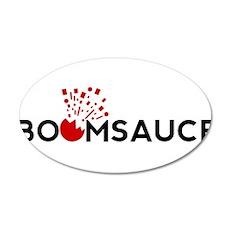 Boomsauce - Bit 38.5 x 24.5 Oval Wall Peel