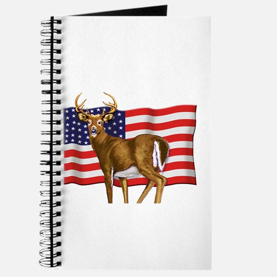 American White Tail Deer Buck Journal
