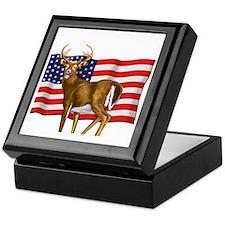 American White Tail Deer Buck Keepsake Box