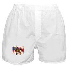 American White Tail Deer Buck Boxer Shorts