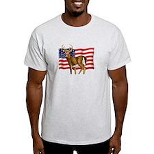 American White Tail Deer Buck T-Shirt