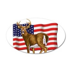 American White Tail Deer Buck Wall Decal