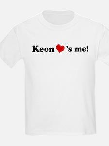 Keon loves me Kids T-Shirt