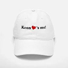 Keon loves me Baseball Baseball Cap