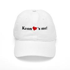 Keon loves me Baseball Cap