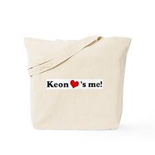 Keon loves me Tote Bag