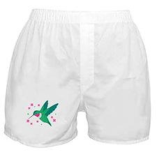 Delightful Little Hummingbird Boxer Shorts