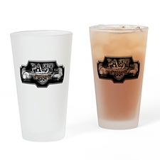 P.A.S.T Elite Logo Drinking Glass