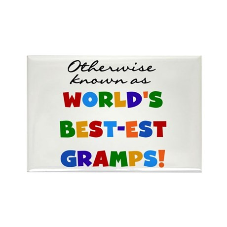 Otherwise Known Best Gramps Rectangle Magnet