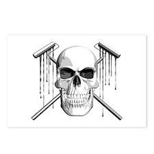 Skull Painter Postcards (Package of 8)