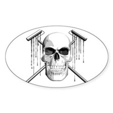 Skull Painter Decal