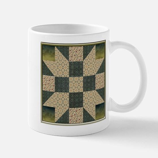 Unique Patchwork Mug