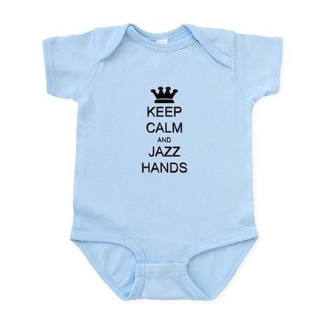 Keep Calm Jazz Hands Infant Bodysuit