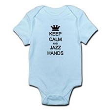 Keep Calm Jazz Hands Onesie