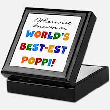 Otherwise Known Best Poppi Keepsake Box