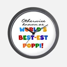 Otherwise Known Best Poppi Wall Clock