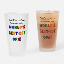 Otherwise Known Best Opa Drinking Glass