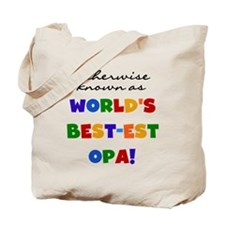 Otherwise Known Best Opa Tote Bag