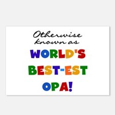 Otherwise Known Best Opa Postcards (Package of 8)