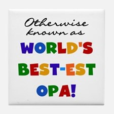 Otherwise Known Best Opa Tile Coaster