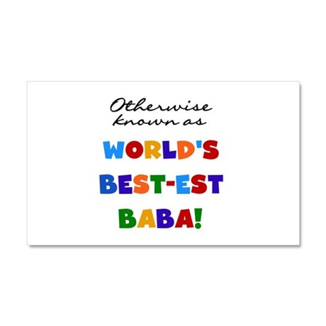 Otherwise Known Best Baba Car Magnet 20 x 12