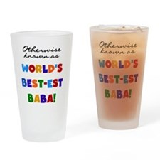 Otherwise Known Best Baba Drinking Glass