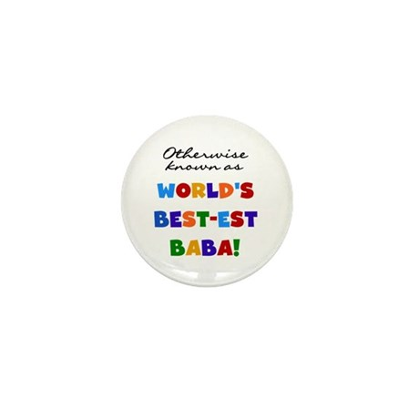 Otherwise Known Best Baba Mini Button