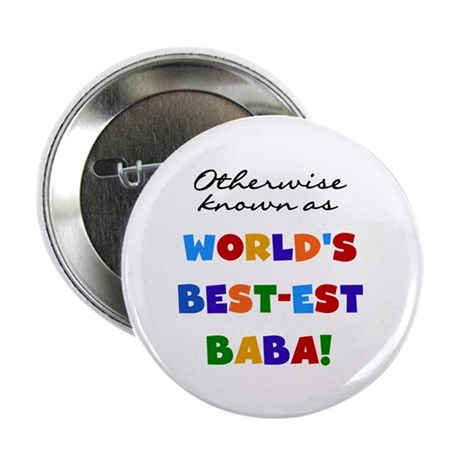 "Otherwise Known Best Baba 2.25"" Button"
