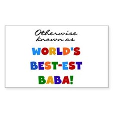 Otherwise Known Best Baba Bumper Stickers