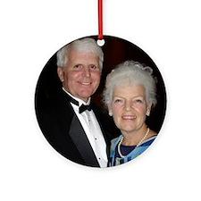 Bruce & Gail Ornament (Round)