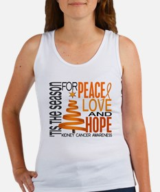 Christmas 1 Kidney Cancer Women's Tank Top