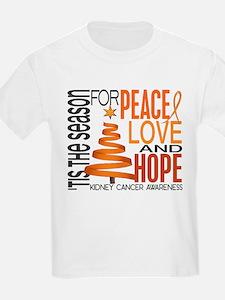 Christmas 1 Kidney Cancer T-Shirt