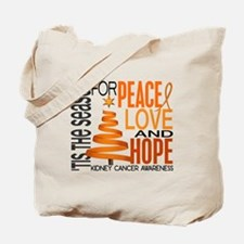 Christmas 1 Kidney Cancer Tote Bag