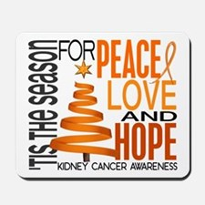 Christmas 1 Kidney Cancer Mousepad