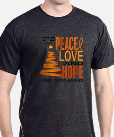 Christmas 1 Kidney Cancer T-Shirt