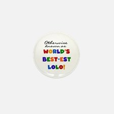 Otherwise Known Best Lolo Mini Button (10 pack)