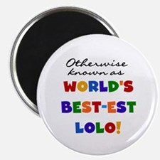 """Otherwise Known Best Lolo 2.25"""" Magnet (10 pack)"""
