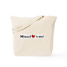 Misael loves me Tote Bag