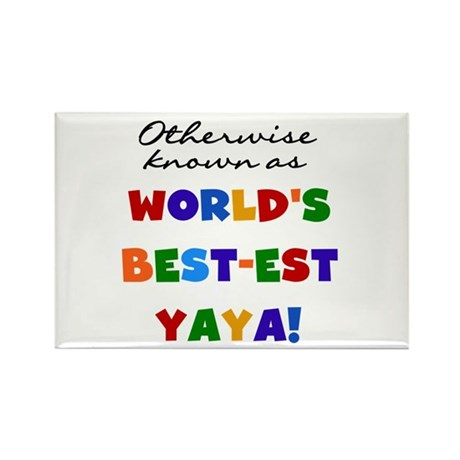 Otherwise Known Best Yaya Rectangle Magnet (100 pa