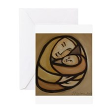 Mother and Child Greeting Card