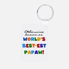 Otherwise Known Best Papaw Keychains