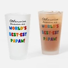 Otherwise Known Best Papaw Drinking Glass