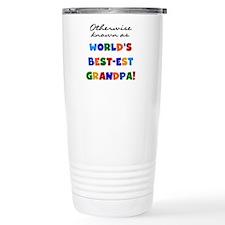 Otherwise Known Best Grandpa Travel Mug
