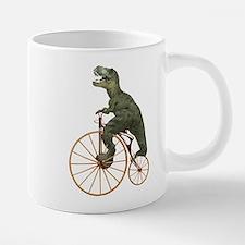 Tyrannosaurus Rex Penny Farthing Mugs