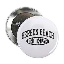 """Bergen Beach Brooklyn 2.25"""" Button"""