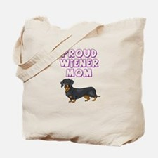 Proud Wiener Mom Tote Bag