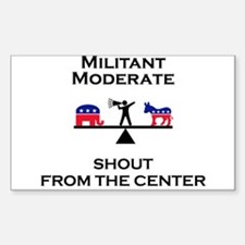 Cute Centrist Decal