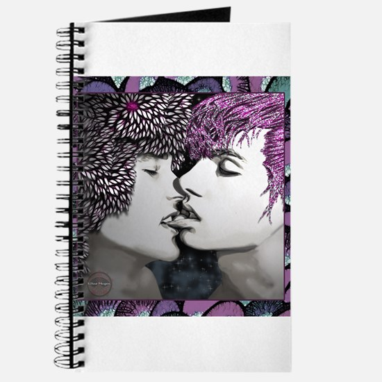 Midnight Kiss - colorful fram Journal